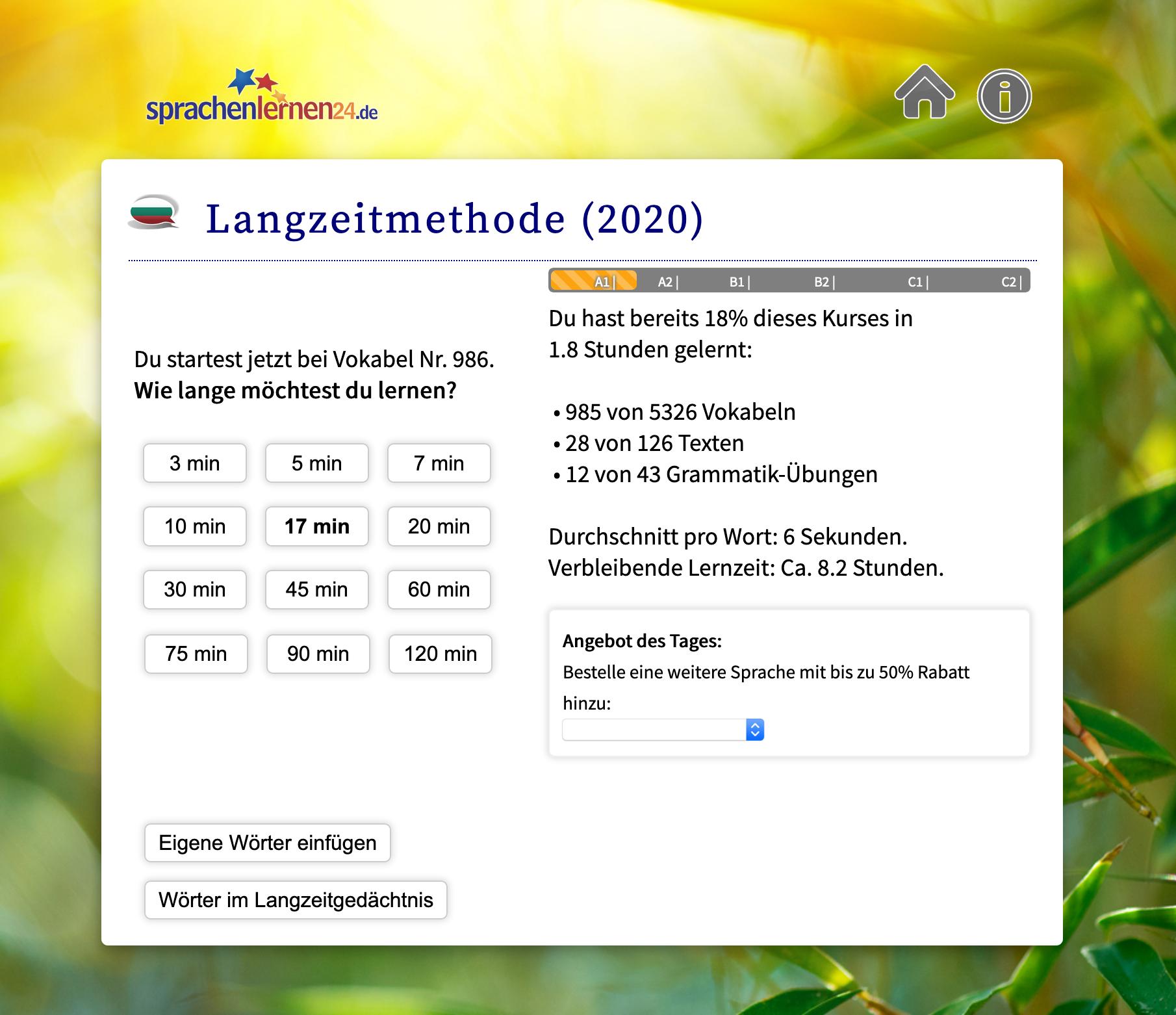 sprachenlernen24_uebersicht_minuten
