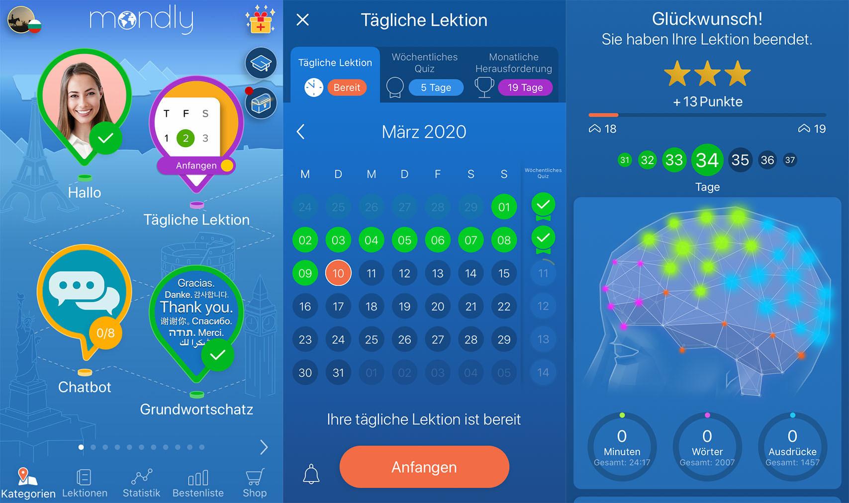 lektionen_mondly_app_tagesaufgabe